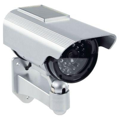 DUMMY-AUSSENKAMERA Kameraattrappe, Überwachungskamera Kunststoffgehäuse - 1