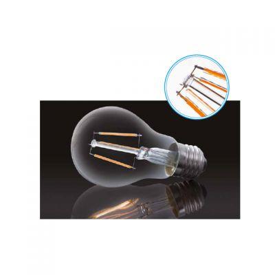6 Watt LED Lampe, Filament, E27 Sockel, warmweiss, LED Birne - 1