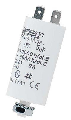 5 uF Motorkondensator Betriebskondensator 5 µF Steckanschluss Kondensator - 1