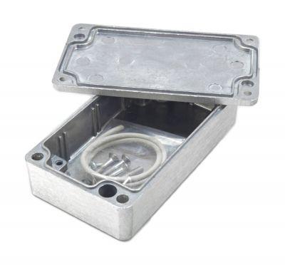 Alu Spritzguss Gehäuse, Aluminiumgehäuse, Platinengehäuse, LED Gehäuse 65x115x30mm - 1