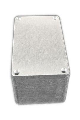 Alu Spritzguss Gehäuse, Aluminiumgehäuse, Platinengehäuse, LED Gehäuse 65x115x55mm - 1