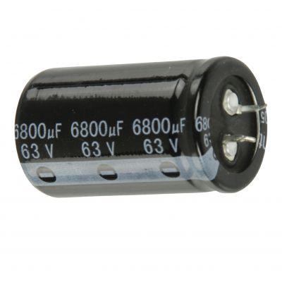 Snap-in Elektrolytkondensator 6800µF 63 V 85° - 1