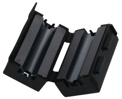 Ferrit Entstörfilter, Klappferrit für Kabel bis 6,2mm Ø - 1
