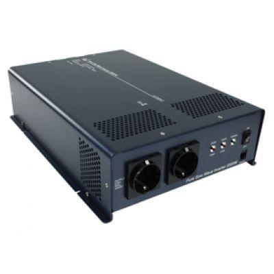 Reiner Sinus Wechselrichter, Spannungswandler 2000 W 24V - 230 V Schutzkontakt - 1