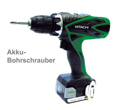 Hitachi Akku-Bohrschrauber DS14DSL 14,4V,inkl. 2x 4,0Ah Li-ion,Akku Bohrmaschine - 1
