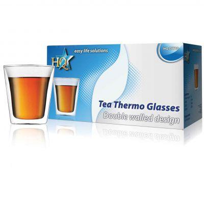 Doppelwandiges Tee-Thermoglas - 1