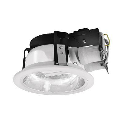 Downlight, Deckenlampe, Einbaulampe, Lampe, Einbaudownlight max. 2x20Watt E27 - 1