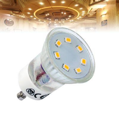 LED Lampe SMD LEDs, MR11, GU10, kaltweiss - 1