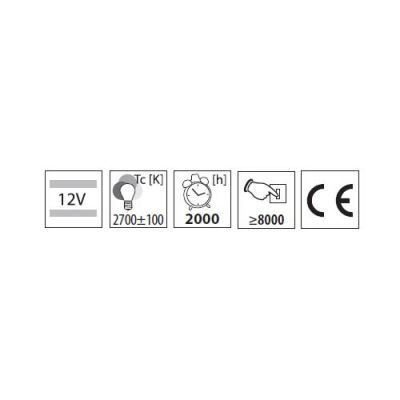 5W Halogen Stiftsockellampe mit Sockel G4 / 12V, Halogenlampe - 1