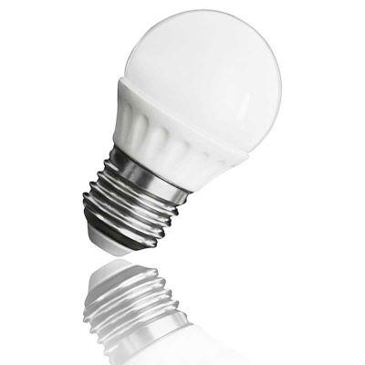 3 Watt LED Lampe, Mini Globe LED-Birne, Sockel E27, warmweiss, SMD LED - 1