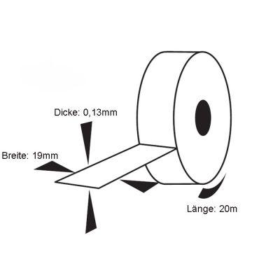 Isolierband, Elektriker Klebeband, Isoband, Installationsklebeband schwarz 19mm x 20m EUR 0,05/m - 1