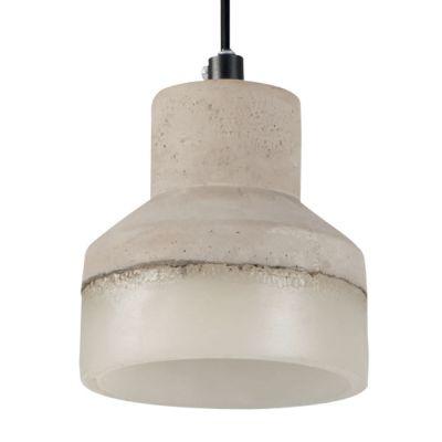 stilvolle deckenleuchte deckenlampe betonoptik keramik e27 grau arnolicht. Black Bedroom Furniture Sets. Home Design Ideas