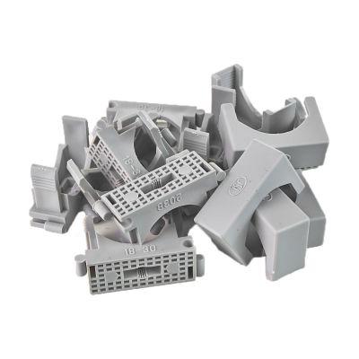 50x Reihen Druckschelle Spannbereich 18-30mm, Clipschelle, Rohrschelle, Kunststoffrohr - 1