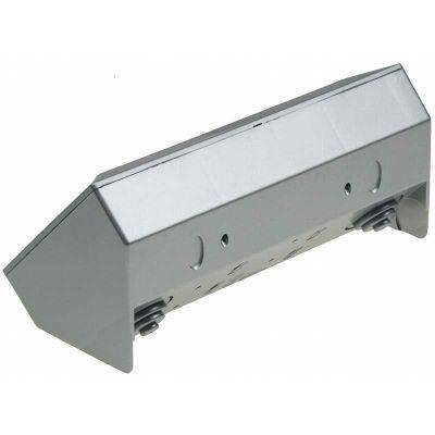 3 fach Steckdosenblock silber Aufbaumontage 250V~ / 16A - 1