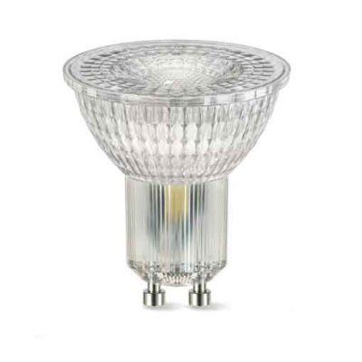 3,3 Watt LED Lampe, Sockel GU10 230V Spot 3,3W Leuchtmittel 36° Strahler warmweiss - 1