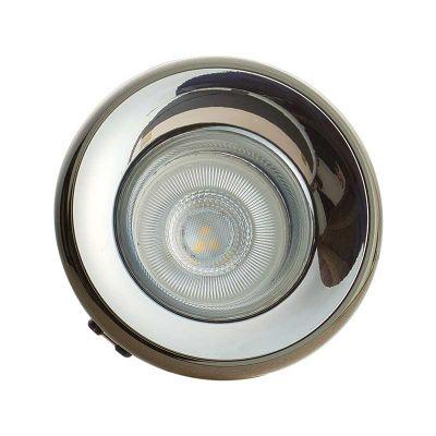 Einbaustrahler Elnis-S Deckeneinbau Leuchte Lampe Einbau-Downlight anthrazit chrome - 1