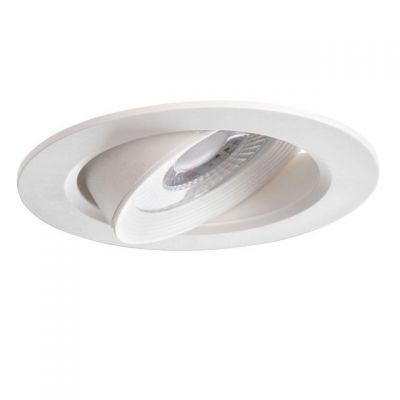 LED Decken-Einbauleuchte rund Spot Einbaulampe weiss - 1