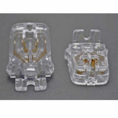 2x Durchsteckfassung, Halterung für T5 Leuchtstoffröhren - 1