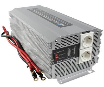 WECHSELRICHTER 2500W 24V -> 230V Spannungswandler - 1