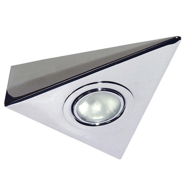 k chen unterbauleuchte m belllampe dreiecksleuchte schranklampe strahler halogen ebay. Black Bedroom Furniture Sets. Home Design Ideas