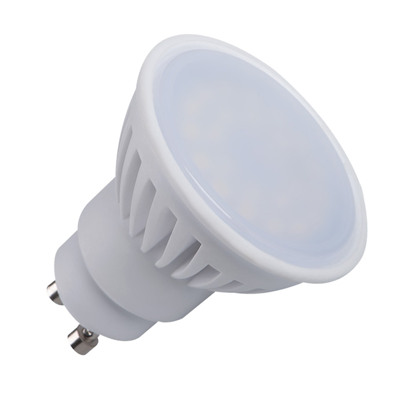 7 watt led spot pro gu10 strahler warmweiss led lampe licht birne 3000k ebay. Black Bedroom Furniture Sets. Home Design Ideas