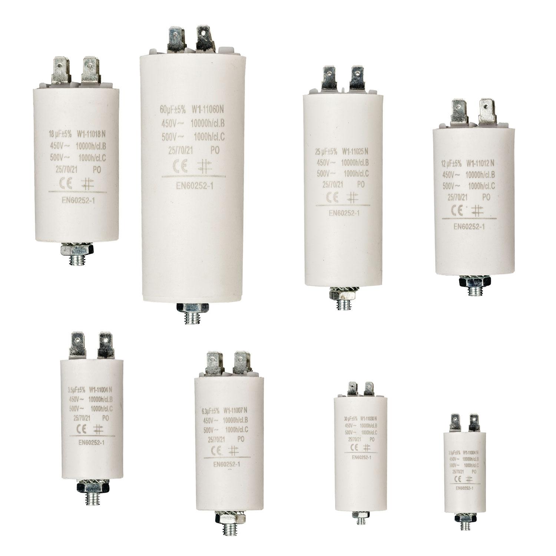 Kondensator Betriebskondensator, Motorkondensator, 450V, µF, MF, uF ...