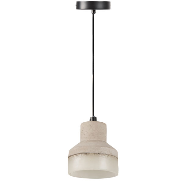 stilvolle deckenlampe leuchte betonoptik keramik e27. Black Bedroom Furniture Sets. Home Design Ideas