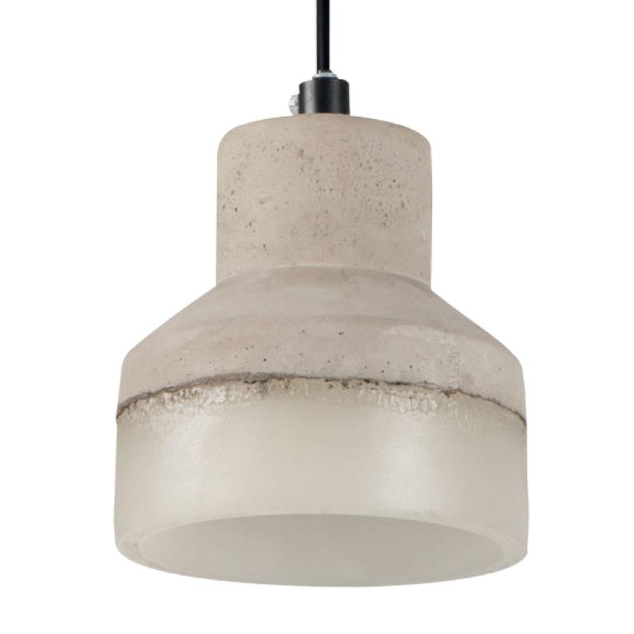 betonlampe aus keramik betonoptik deckenlechte lampe e27 grau ebay. Black Bedroom Furniture Sets. Home Design Ideas