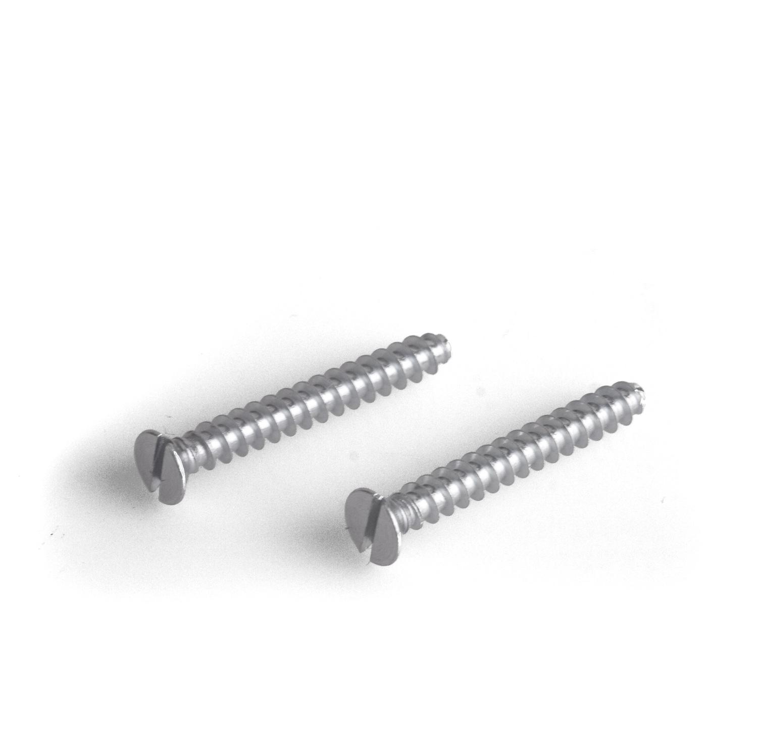 100 Stück Geräteschrauben für Schalterdosen NEU 25mm Länge