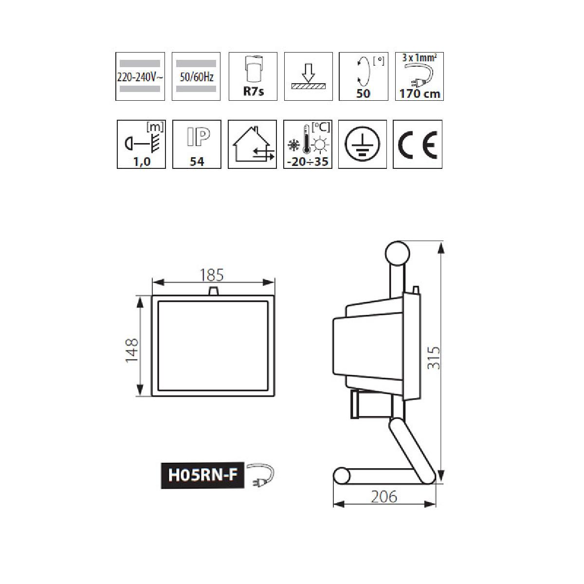 au en halogenstrahler mit bewegungsmelder pr senzmelder. Black Bedroom Furniture Sets. Home Design Ideas