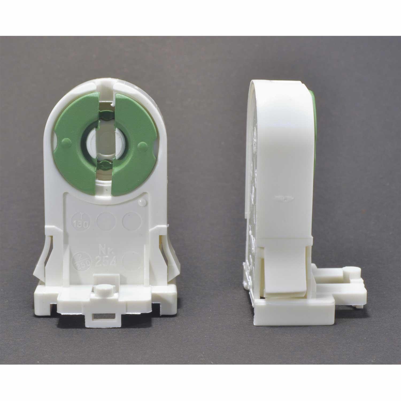 g13 halterung fassung f r leuchtstoffr hre t8 d 26mm leuchtstofflampe led. Black Bedroom Furniture Sets. Home Design Ideas