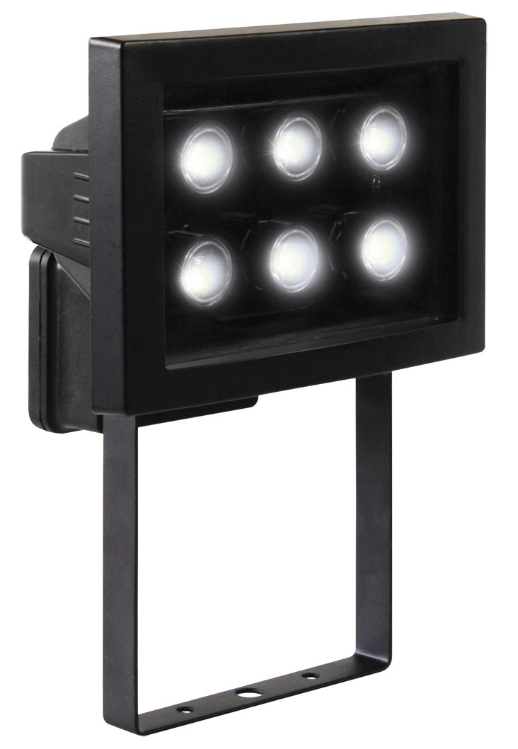 gehwegbeleuchtung led wandleuchte mit 6 leds f innen au en ip44 ebay. Black Bedroom Furniture Sets. Home Design Ideas