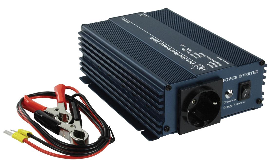 SINUS-STROMUMWANDLER-Inverter-24V-230V-300W-SPANNUNGSWANDLER