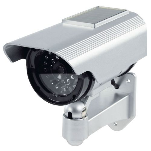 DUMMY-AUSSENKAMERA Kameraattrappe, Überwachungskamera Kunststoffgehäuse - 2