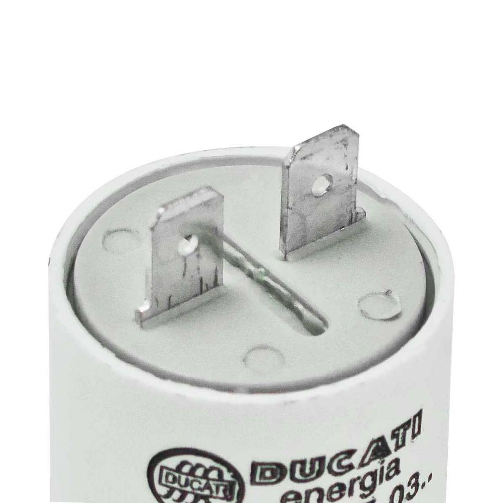 5 uF Motorkondensator Betriebskondensator 5 µF Steckanschluss Kondensator - 3