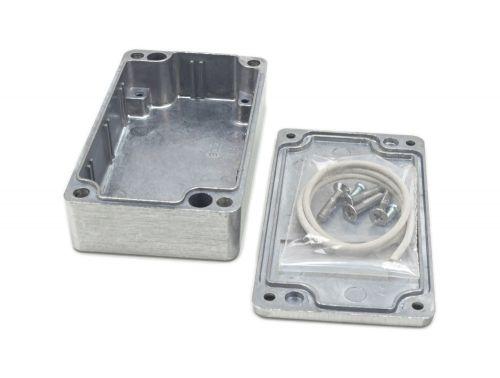 Alu Spritzguss Gehäuse, Aluminiumgehäuse, Platinengehäuse, LED Gehäuse 65x115x30mm - 2