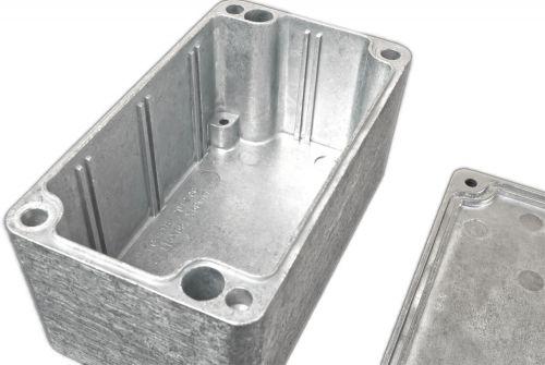 Alu Spritzguss Gehäuse, Aluminiumgehäuse, Platinengehäuse, LED Gehäuse 65x115x55mm - 3