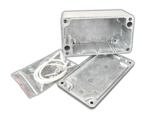 Alu Spritzguss Gehäuse, Aluminiumgehäuse, Platinengehäuse, LED Gehäuse 65x115x55mm - 4