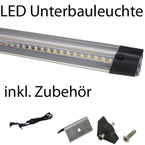 led unterbau eckleuchte leuchte 5w 508 mm k chenschrankleuchte inkl trafo ebay. Black Bedroom Furniture Sets. Home Design Ideas