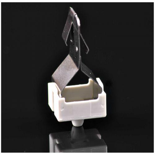 Lampenhalter aus verzinktem Stahlblech für Lampen mit Sockel 2G11 - 2