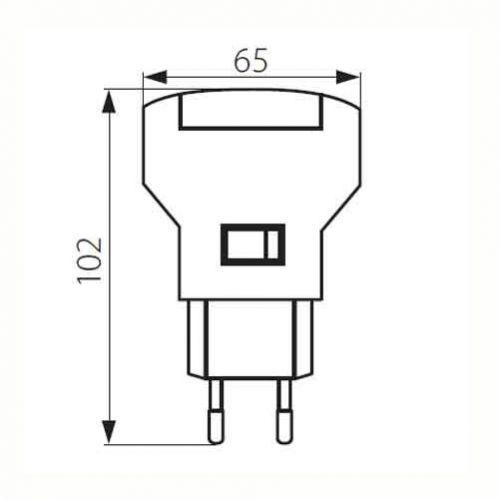 steckdosenlampe leuchte f r die steckdose wandleuchte leuchte lampe ebay. Black Bedroom Furniture Sets. Home Design Ideas