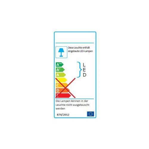 Extraflacher 11W LED Aussenstrahler warmweiss, LED Fluter, Strahler, Flutlicht - 7