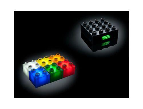 Light Stax, beleuchtete LED Bausteine Set, 36 Stück - 3