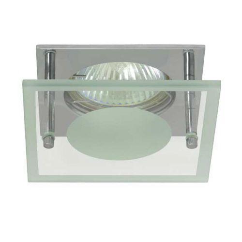 quadratischer deckeneinbaustrahler f r led halogenlampen sockel gx5 3 arnolicht. Black Bedroom Furniture Sets. Home Design Ideas