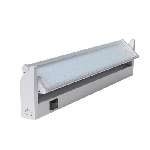 Schwenkbare LED Unterbauleuchte, 5,5W/90LED, Silber LED Lampe Küche  Hängeschrank