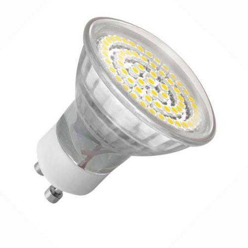 Wandleuchte mit LED Lampen 3,3Watt warmweiss, Leuchte IP44, up/down, rund, grau - 2