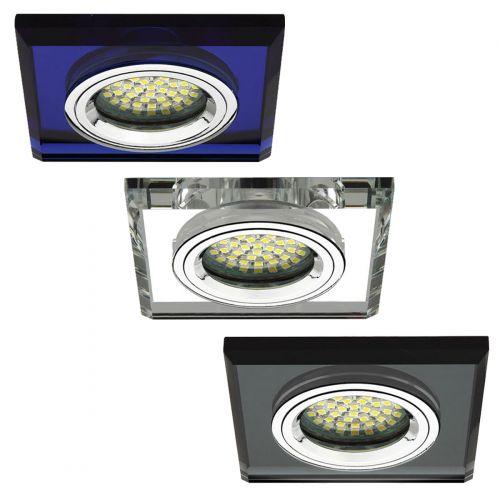 Einbaustrahler Einbauspot Glas Gx5,3 Einbauleuchte Deckeneinbauleuchte klar - 6