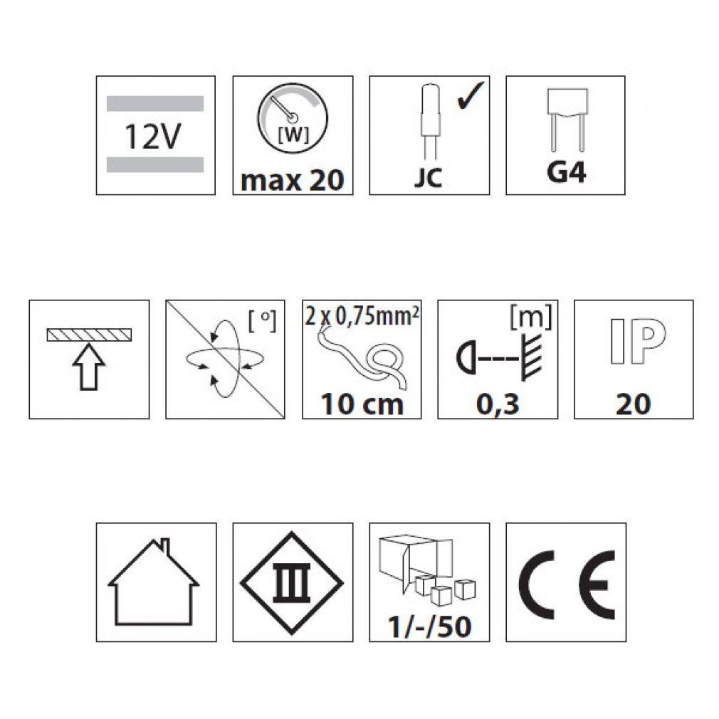 Unterbauleuchte / Möbelleuchte, Dreiecksleuchte, Küchenunterbauleuchte, Schrankleuchte - 4