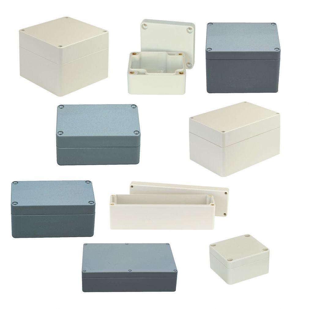 ABS Kunststoffgehäuse 120 x 200 x 75 mm - 10