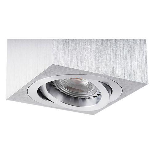 deckenleuchte wrfelleuchte aufbauleuchte aluminium gu10 230v f led halogen arnolicht. Black Bedroom Furniture Sets. Home Design Ideas